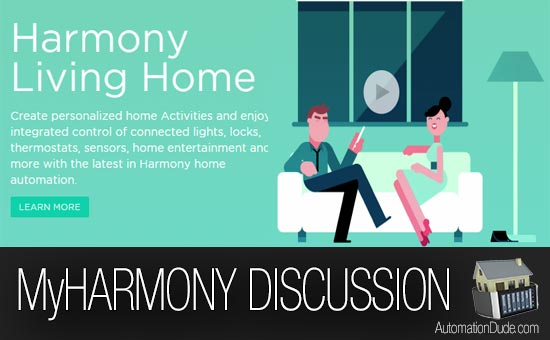 MyHarmony Home Automation Discussion and Early Review