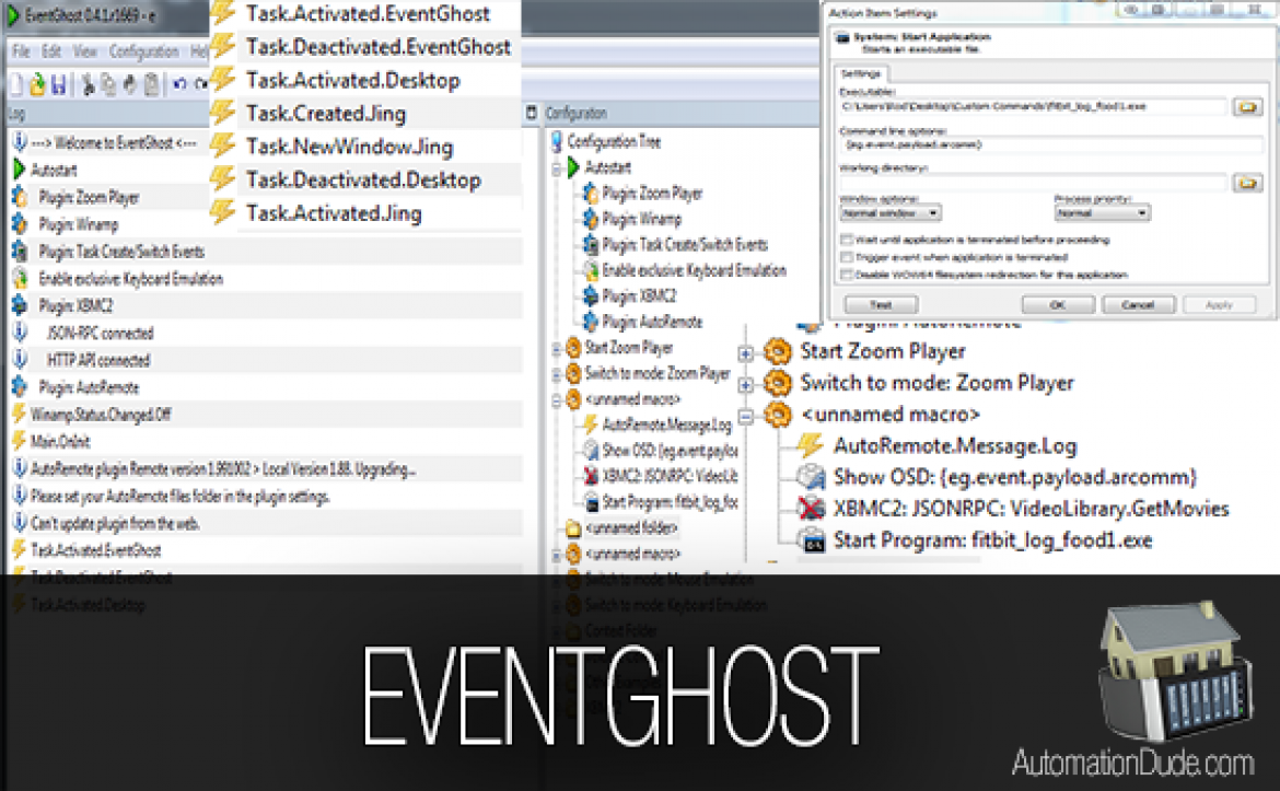 EventGhost Help Guide and Review | A Must HAVE!