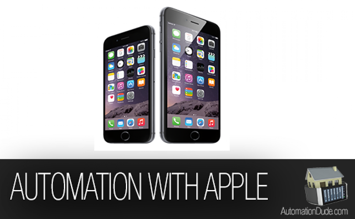 iPhone and Home Automation