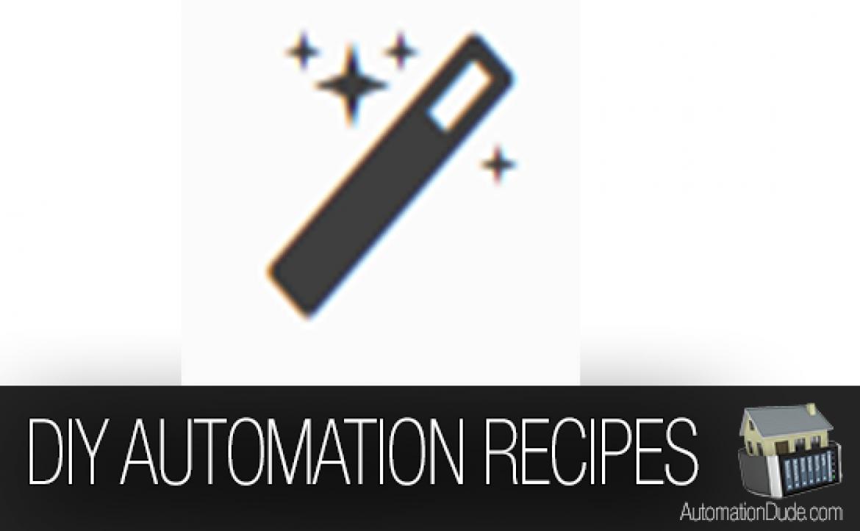 DIY Home Automation Recipes