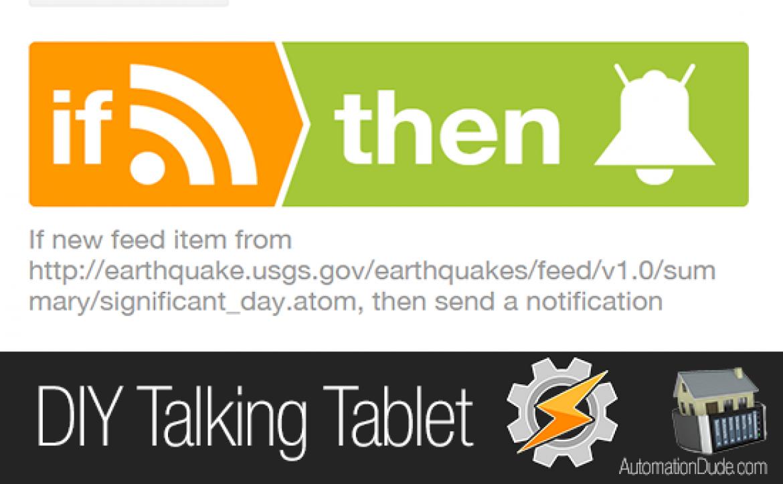Talking Tablet Recipe
